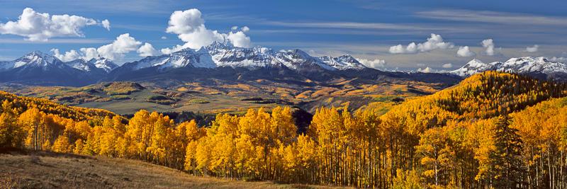 Wilson Peak from Last Dollar Road, Uncompahgre National Forest, near Telluride, Colorado